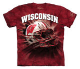 Youth: University Of Wisconsin- Breakthrough Helmet T-Shirt