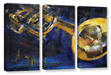 Trumpet 3 Piece Gallery Wrapped Canvas Set Gallery Wrapped Canvas Set