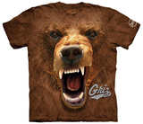 University Of Montana- Big Face Griz T-Shirt
