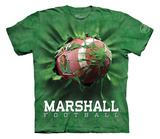 Youth: Marshall University- Breakthrough Football T-Shirt