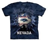 Youth: University Of Nevada, Reno- Breakthrough Wolfpack Baseball T-shirts