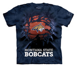Youth: Montana State University- Breakthrough Bobcats Basketball T-shirts