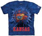 University Of Kansas- Breakthrough Big Jay Basketball Shirt