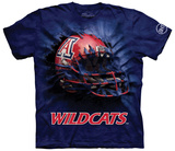 University Of Arizona- Breakthrough Wildcats Helmet T-Shirt