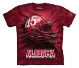 Youth: University Of Alabama- Breakthrough Crimson Tide Helmet Shirts