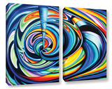 Locus 2 Piece Gallery Wrapped Canvas Set Prints