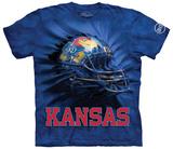 University Of Kansas- Breakthrough Helmet T-shirts