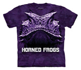 Youth: Texas Christian University- Big Face Super Frog Shirts