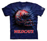 Youth: University Of Arizona- Breakthrough Wildcats Helmet Shirts