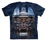 Youth: University Of New Hampshire- Football Warrior Wildcat T-Shirt