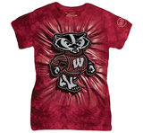 Womans: University Of Wisconsin- Bucky Inner Spirit T-shirts