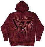 Hoodie: Virginia Tech- Inner Spirit Pullover Hoodie