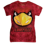 Womans: University Of Louisville- Big Face Louie Shirts