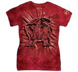 Womans: University Of Maryland- Testudo Inner Spirit T-Shirt