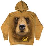 Hoodie: University Of Calif, Berkeley- Big Face Oski Pullover Hoodie