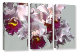 Abstract Orchid 3 Piece Gallery Wrapped Canvas Set Gallery Wrapped Canvas Set