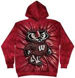 Hoodie: University Of Wisconsin- Bucky Inner Spirit Pullover Hoodie