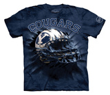 Youth: Brigham Young University- Breakthrough Cougars Helmet T-Shirt