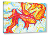 Swirling Koi Gallery Wrapped Canvas Gallery Wrapped Canvas