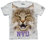 New York University- Big Face Bobcat T-shirts