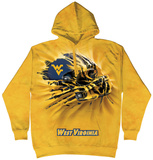 Hoodie: West Virginia University- Breakthrough Helmet Pullover Hoodie
