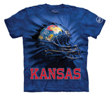 Youth: University Of Kansas- Breakthrough Helmet Shirt