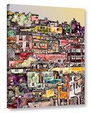 Mexican Hilltown Gallery Wrapped Canvas Gallery Wrapped Canvas
