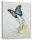 Opal Butterfly Gallery Wrapped Canvas Gallery Wrapped Canvas