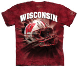 University Of Wisconsin- Breakthrough Helmet Shirt