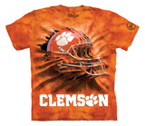 Youth: Clemson University- Breakthrough Helmet T-Shirt