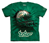 Youth: University Of South Florida- Breakthrough Helmet T-shirts