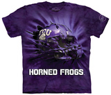 Texas Christian University- Breakthrough Helmet T-shirts