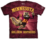 University Of Minnesota- Charging Goldy T-shirts
