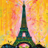 Dean Russo- Eiffel Tower Posters by Dean Russo