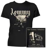 "Motorhead- Ian ""Lemmy"" Kilmister (Front/Back) T-Shirt"