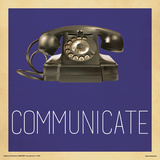 Communicate Telephone Prints