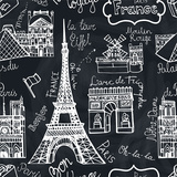 Paris Pattern Posters