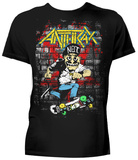 Anthrax- Skater Guy T-shirts