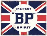 BP Tin Sign