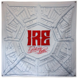 Parkway Drive- Ire Bleached Wood Flag Prints