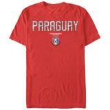 COPA America- Paraguay Flag Shield T-Shirt