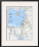 2008 Eastern Mediterranean Map Print