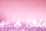 Pink Bokeh Circles Background. Photographic Print by  Gamjai