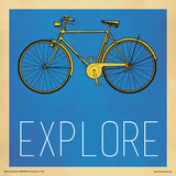 Explore Yellow Bicycle Posters
