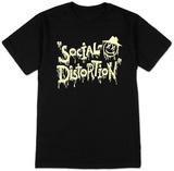 Social Distortion- Sloppy Logo T-shirts