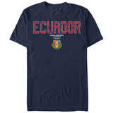 COPA America- Ecuador Flag Shield Shirts