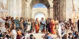 Raphael- School Of Athens Print by Raphael