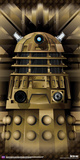 Doctor Who- Gold Dalek Poster