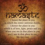 Namaste Prints