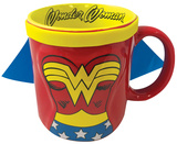DC Wonder Woman Caped 20 Oz Mug Caneca